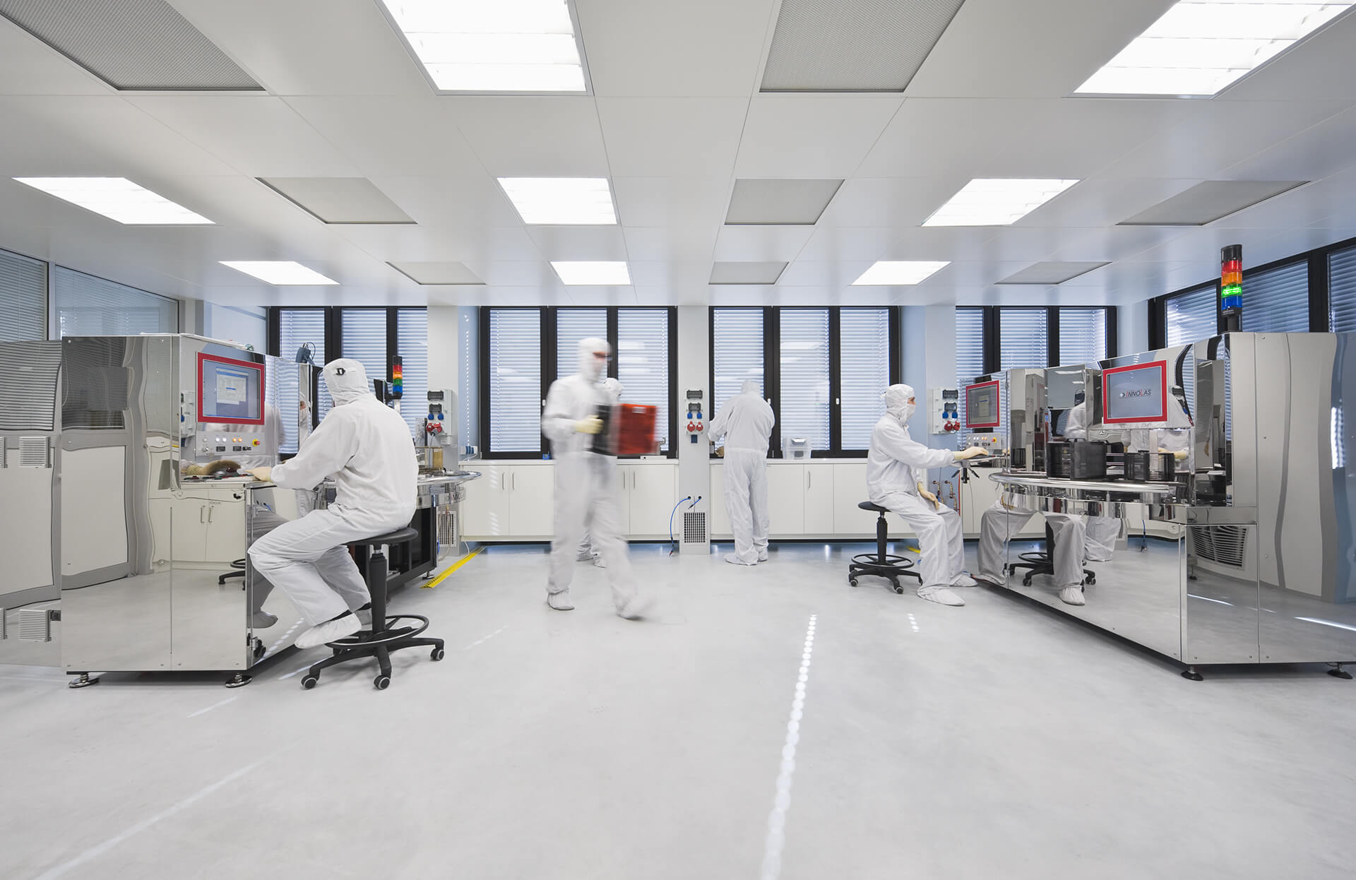 Clean Room: InnoLas Semiconductor